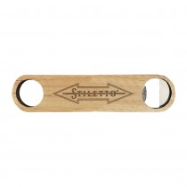 Stiletto Wooden Bottle Opener