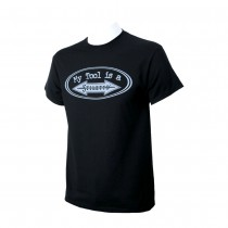 Unisex Stiletto DryBlend Black T-Shirt